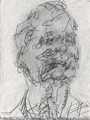 Frank Auerbach self portrait
