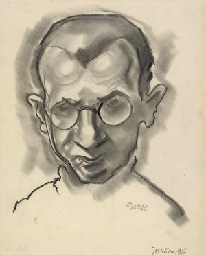 George Grosz self portrait