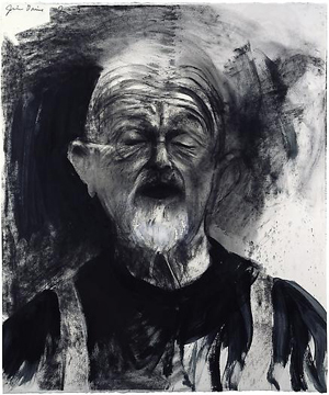 Jim Dine self portrait