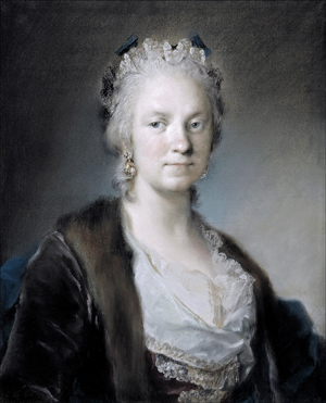Rosalba Carriera self portrait
