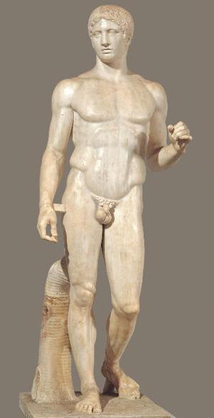 Doryphoros by Polykleitos