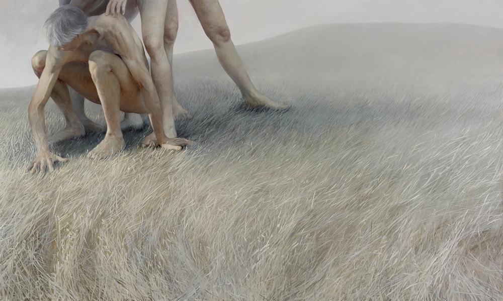 Aleah Chapin painting Interfold