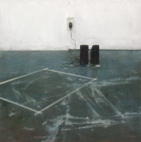 Samantha Haring painting