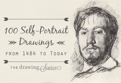 100 Self Portrait Drawings from 1484 to Today