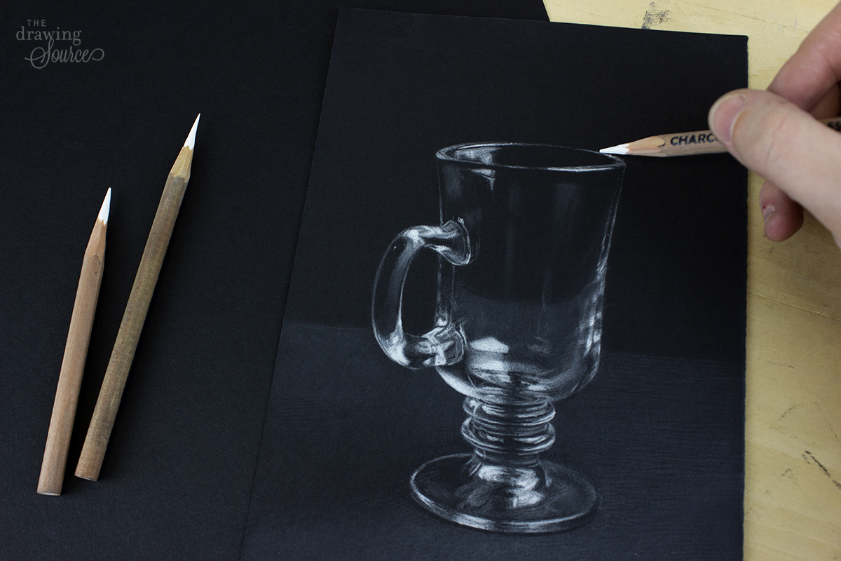 How to Use White Charcoal Pencils: 3 Drawing Techniques to Try