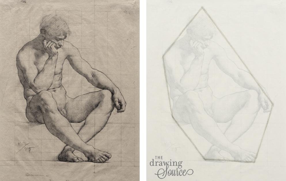 Drawing figures using the envelope method