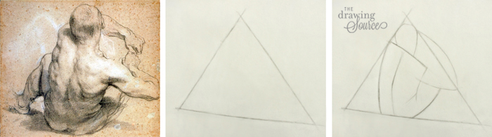Drawing figures beginning with a shape