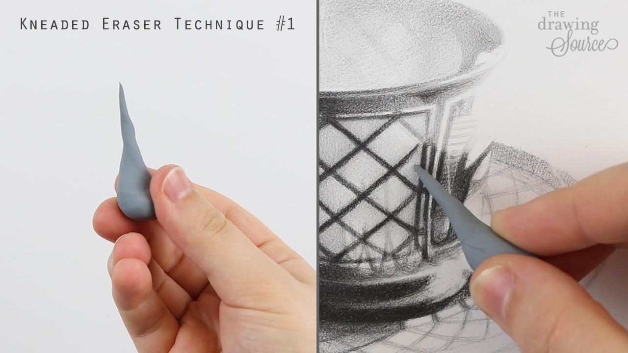 Kneaded eraser technique 1