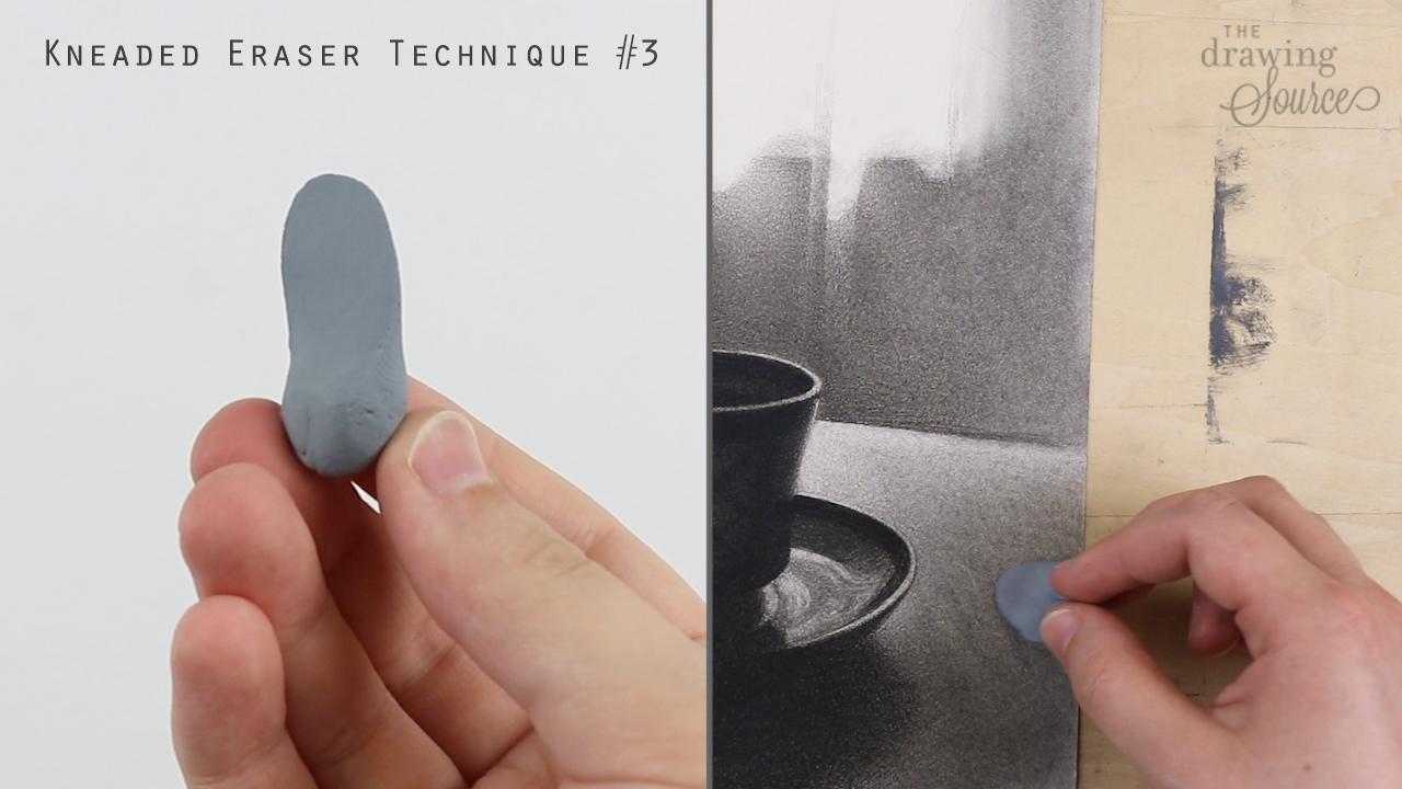 Kneaded eraser technique 3